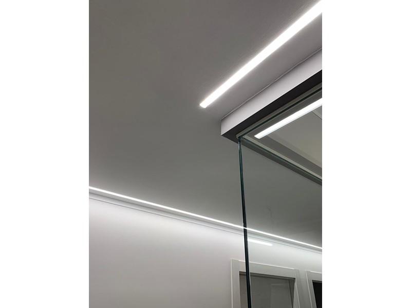 Illuminazione a incasso per Studio Associato Molino Felicetti: un lavoro di Veglio Aldo