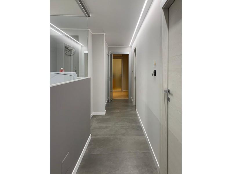 Illuminazione a incasso per lo Studio Dentistico Associato Molino Felicetti: un lavoro Veglio Aldo, gli specialisti dell'illuminazione Torino