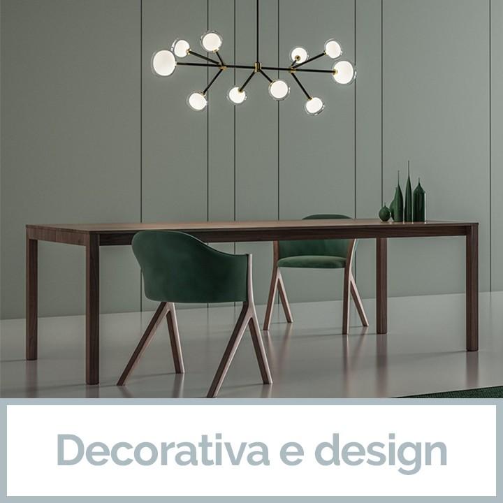 Illuminazione Decorativa e design da Veglio Aldo il meglio dell'Illuminazione Torino e dei lampadari Torino