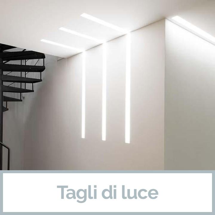 Tagli di luce da Veglio Aldo il meglio dell'Illuminazione Torino e dei lampadari Torino