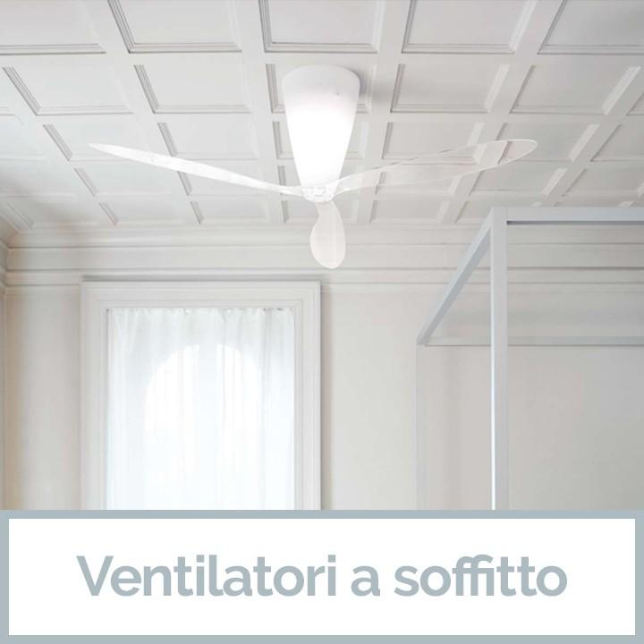 Ventilatori a soffitto da Veglio Aldo il meglio dell'Illuminazione Torino e dei lampadari Torino