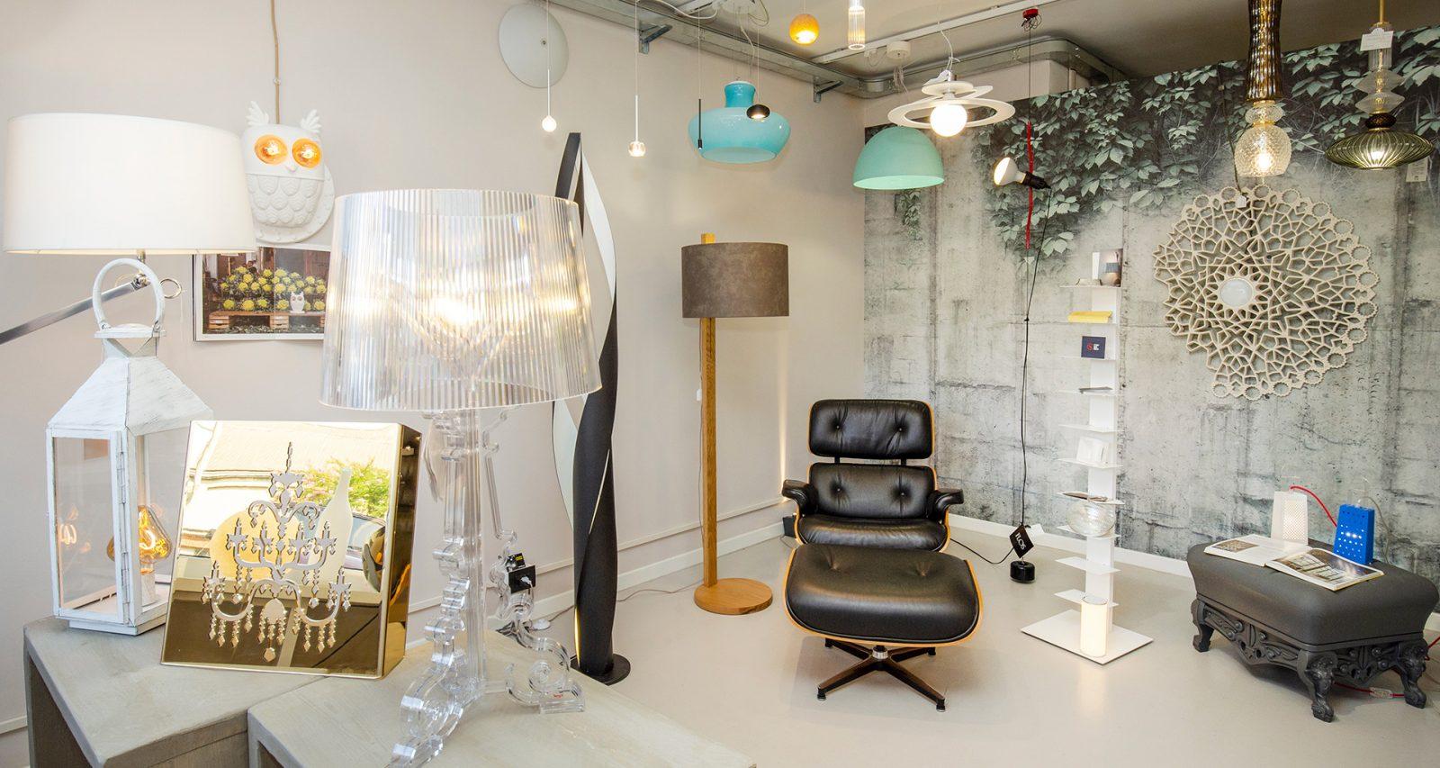 Gli showroom di Veglio dove vedere dal vivo lampadari, plafoniere e tutto il meglio dell'illuminazione Torino 2