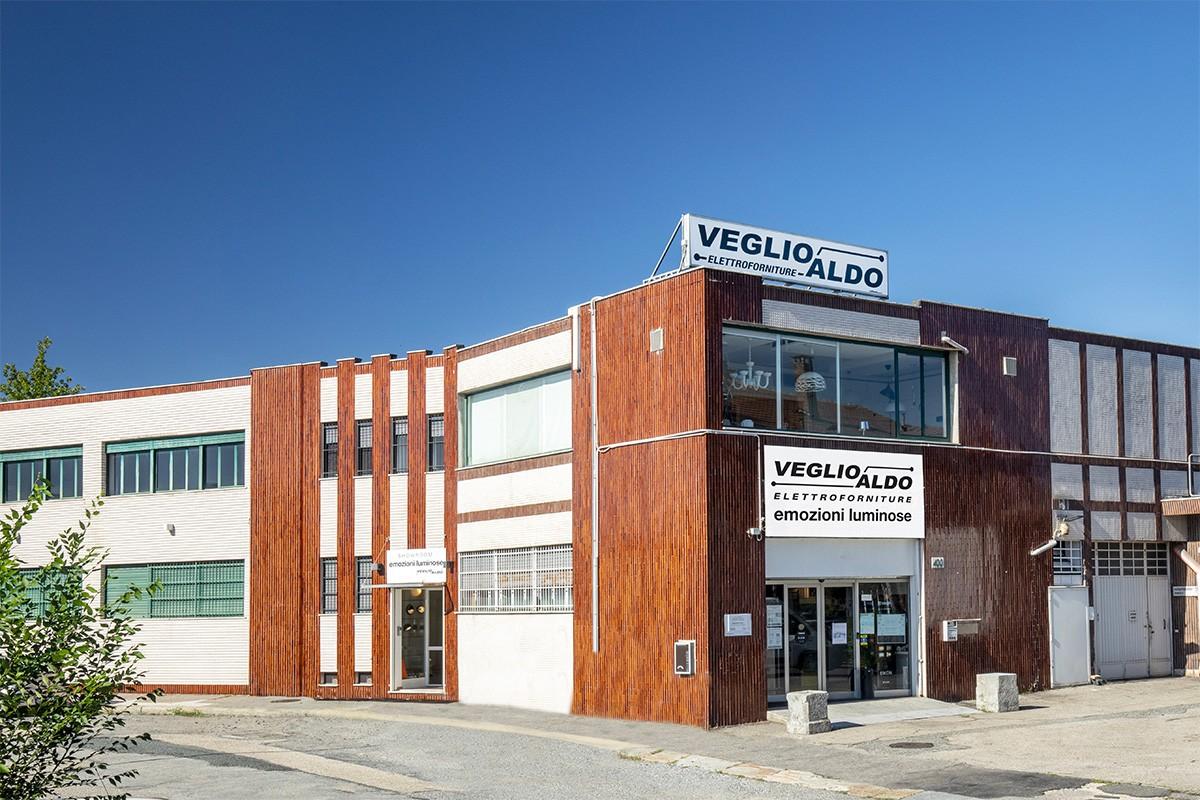 Veglio Aldo: sede di Corso Orbassano 400 a Torino. Il posto dove trovare lampadari, lampade, led, plafoniere, elettroforniture e illuminazione