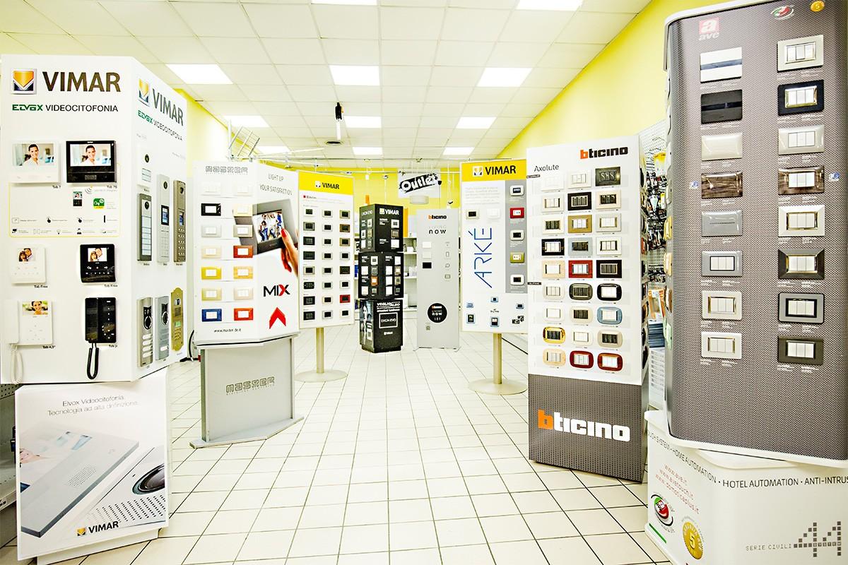 Viamr, Bticino, Master, Ave: da Veglio Aldo trattiamo solo i migliori brand per le elettroforniture Torino