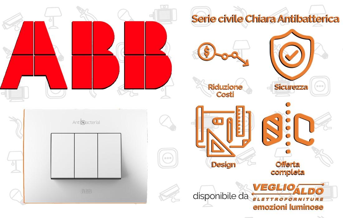 Abb serie civile chiara: novità illuminazione Torino Fb