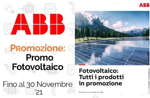 Abb: la promozione su Fotovoltaico. Da Vegliolux e Idrocentro