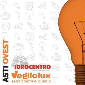 Cuneo Asti Ovest: un punto vendita di Vegliolux per Illuminazione e elettroforniture, un marchio del gruppo Idrocentro