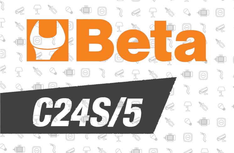 Cassettiera Beta C24s/5 di Beta: disponibile da Veglio Aldo, elettroforniture, forniture elettriche e strumentazione per l'installazione a Torino