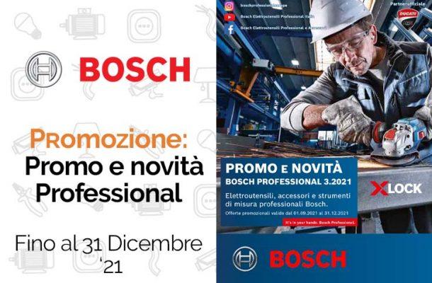 Bosch Professional: la promozione su troncatrici, trapani e avvitatori. Da Vegliolux e Idrocentro