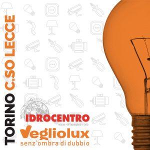 Torino C.so Lecce: un punto vendita di Vegliolux per Illuminazione e elettroforniture, un marchio del gruppo Idrocentro