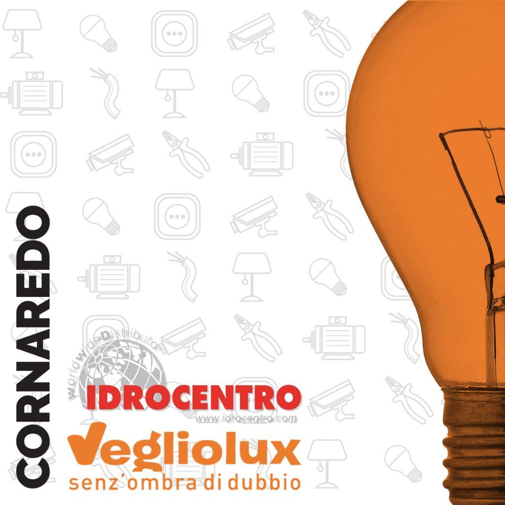 Cornaredo: un punto vendita di Vegliolux per Illuminazione e elettroforniture, un marchio del gruppo Idrocentro