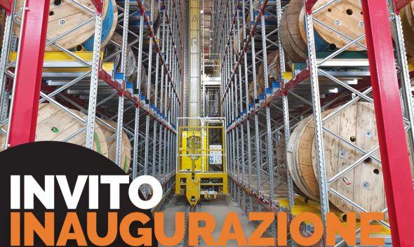 Vegliolux di Idrocentro ha un nuovo magazzino automatico