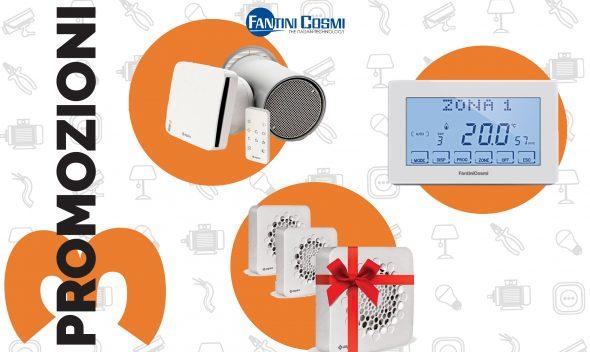 Da Vegliolux, un marchio del gruppo Idrocentro arrivano 3 promozioni di Fantini e Cosmi su Aspirante Universale AP3100 e molto altro