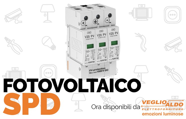 Spd Fotovoltaico: da Veglio Aldo la protezione per la tua abitazione
