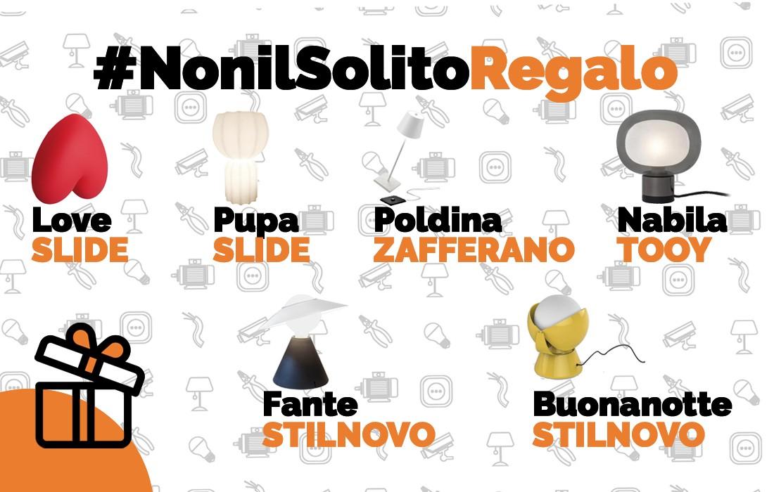Slide love - Slide Pupa - Poldina Zafferano - Nabila Tooy - Fante Stilnovo - Buonanotte Stillnovo - lampada da tavolo_ Vegliolux, il meglio dell'illuminazione