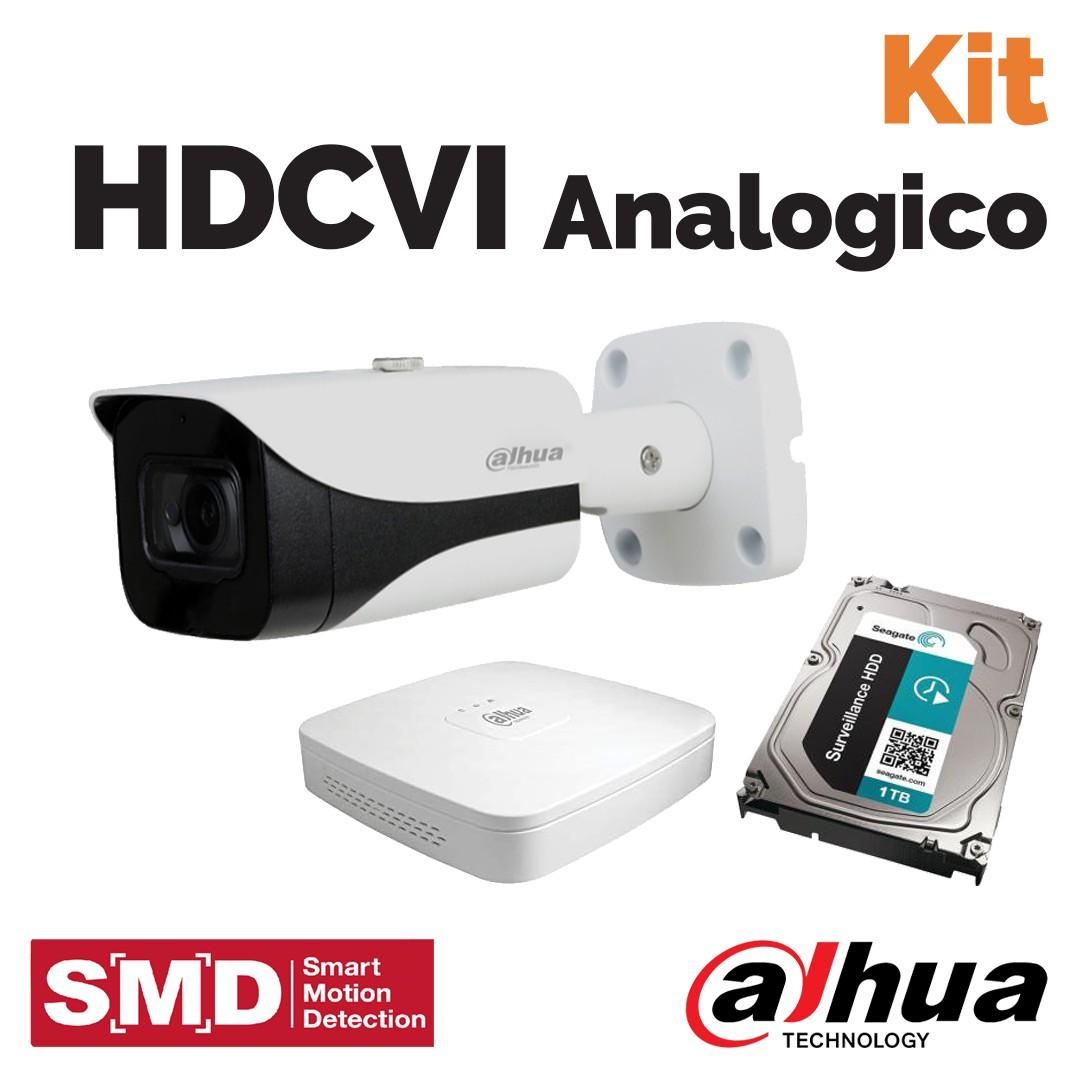 Kit analogico: la videosorveglianza Dahua da Vegliolux e Idrocentro