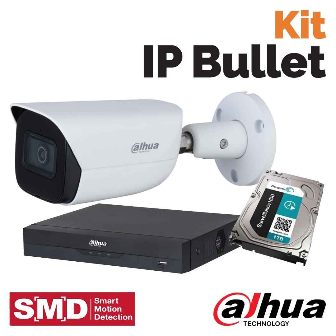 Kit IP Bullet - la videosorveglianza Dahua da Vegliolux e Idrocentro