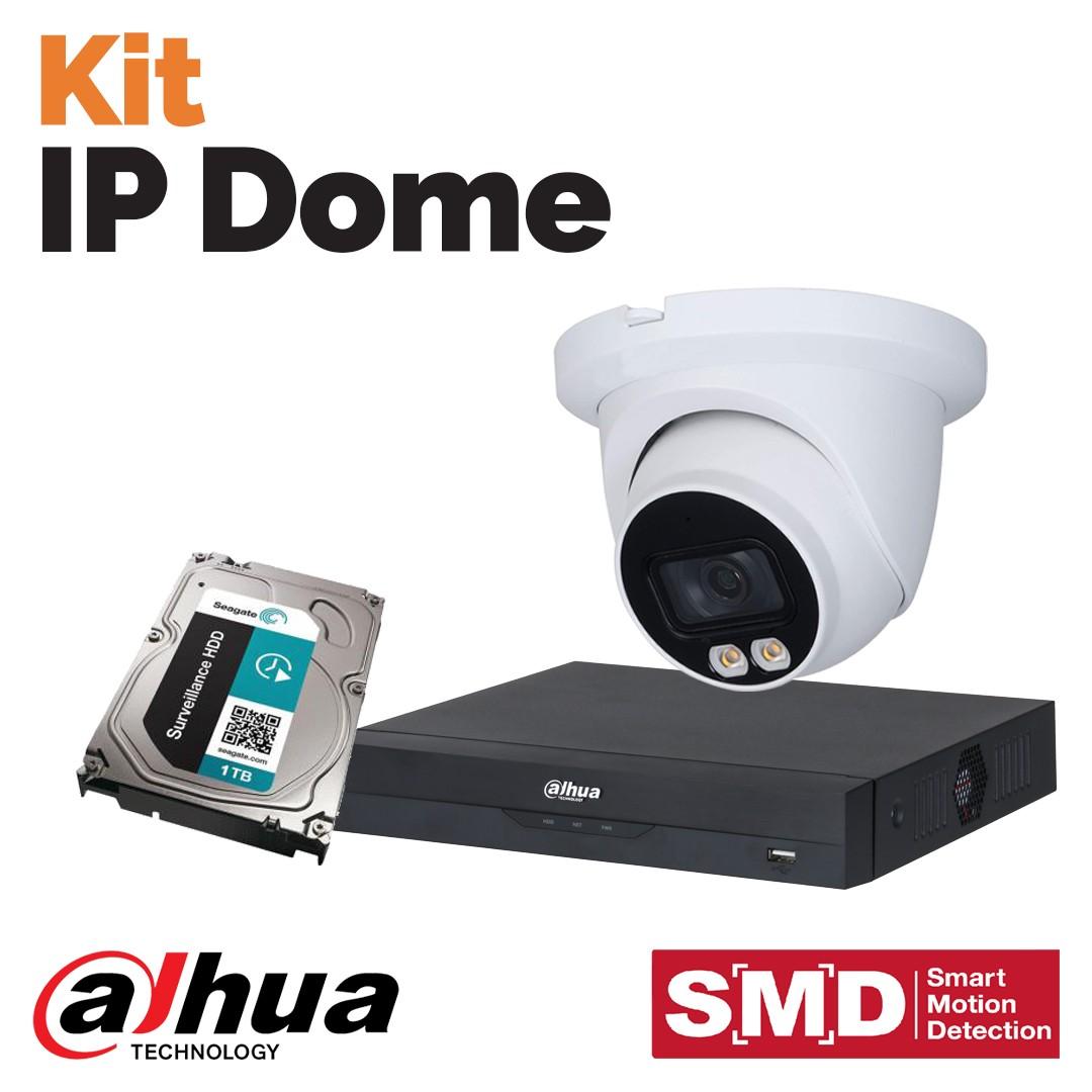 Kit IP Dome - la videosorveglianza Dahua da Vegliolux e Idrocentro