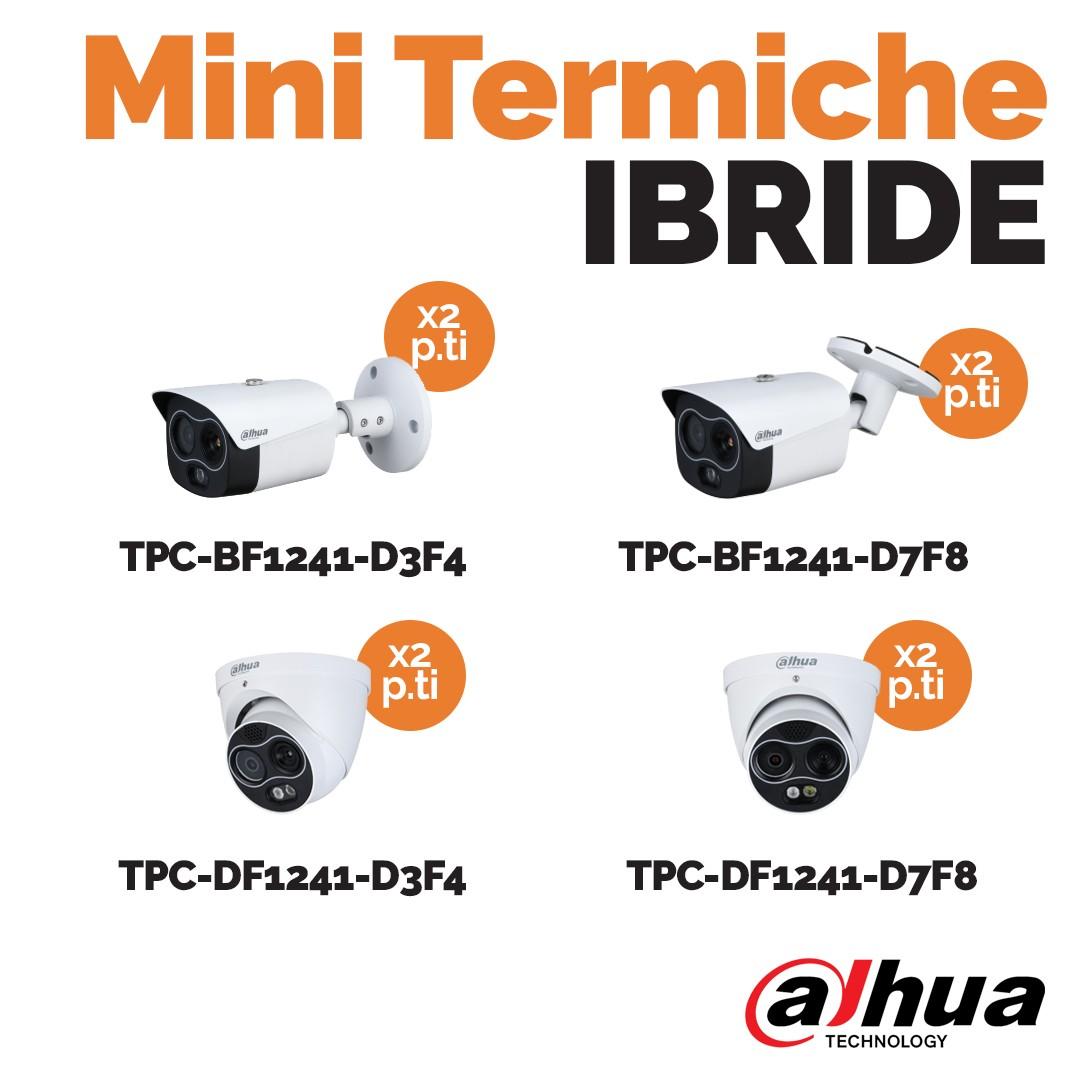 Mini termiche Ibride Dahua da Idrocentro e Vegliolux