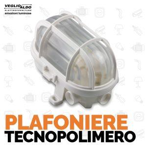 Plafoniere con schermo in tecnopolimero di Master Divisione Elettrica da Veglio Aldo, gli specialisti di lampadari e forniture elettriche Torino