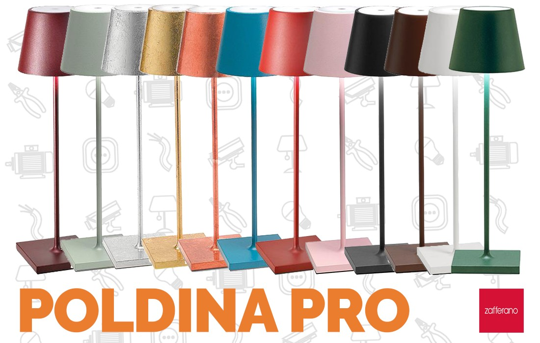 Zafferano Poldina Pro in 11 colori da Veglio Aldo, gli specialisti di Illuminazione Torino