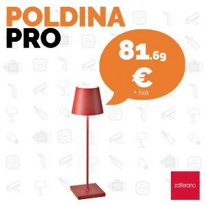 Zafferano Poldina: la lampada da portare ovunque da Veglio Aldo. Un perfetto regalo di Natale