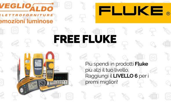 Scopri la promozione Freefluke di Fluke sugli strumenti di misurazione di precisione.