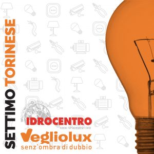 Settimo Torinese: un punto vendita di Vegliolux per Illuminazione e elettroforniture, un marchio del gruppo Idrocentro