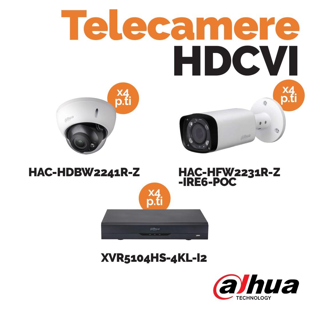 Telecamere hdcvi Dahua: sicurezza e tecnologia in promozione