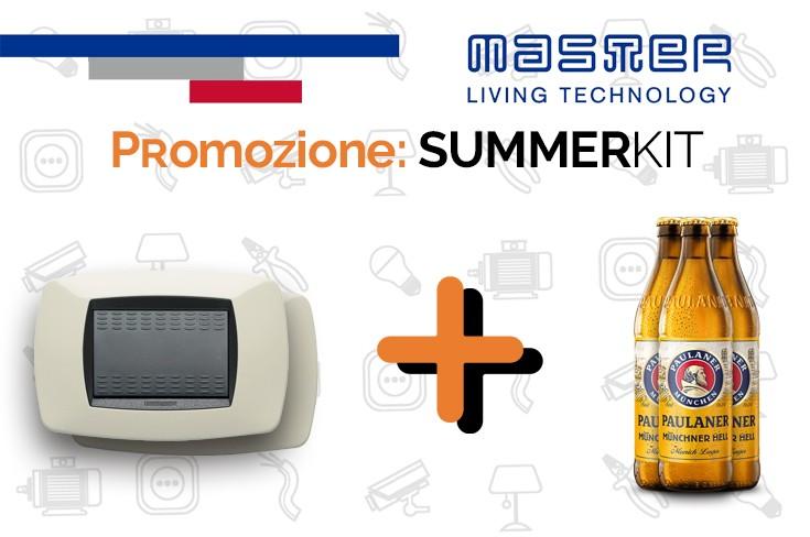 Master: Promozione Modo & Mix Summer Kit Interrutori, deviatori e prese