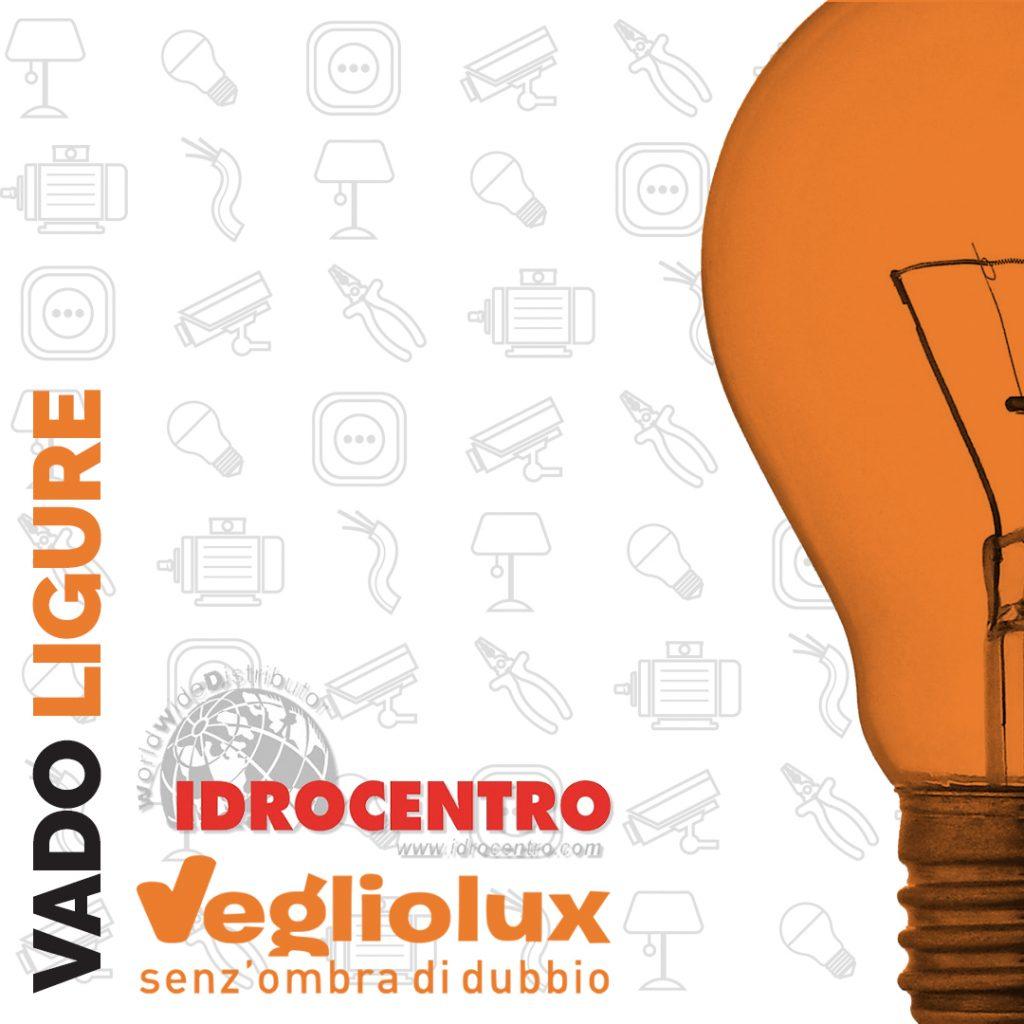 Vado Ligure: un punto vendita di Vegliolux per Illuminazione e elettroforniture, un marchio del gruppo Idrocentro