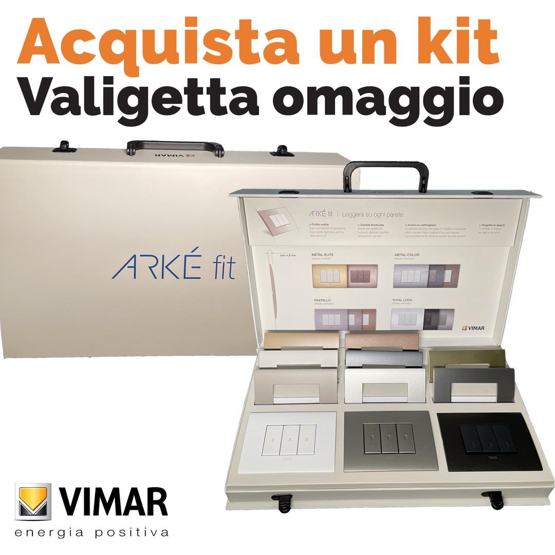 Acquista un kit Arké Fit e ottieni in omaggio la valigetta espositiva: da Vegliolux e Idrocentro
