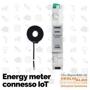 Domotica Torino: da Veglio Aldo srl l'energy meter connesso iot vimar