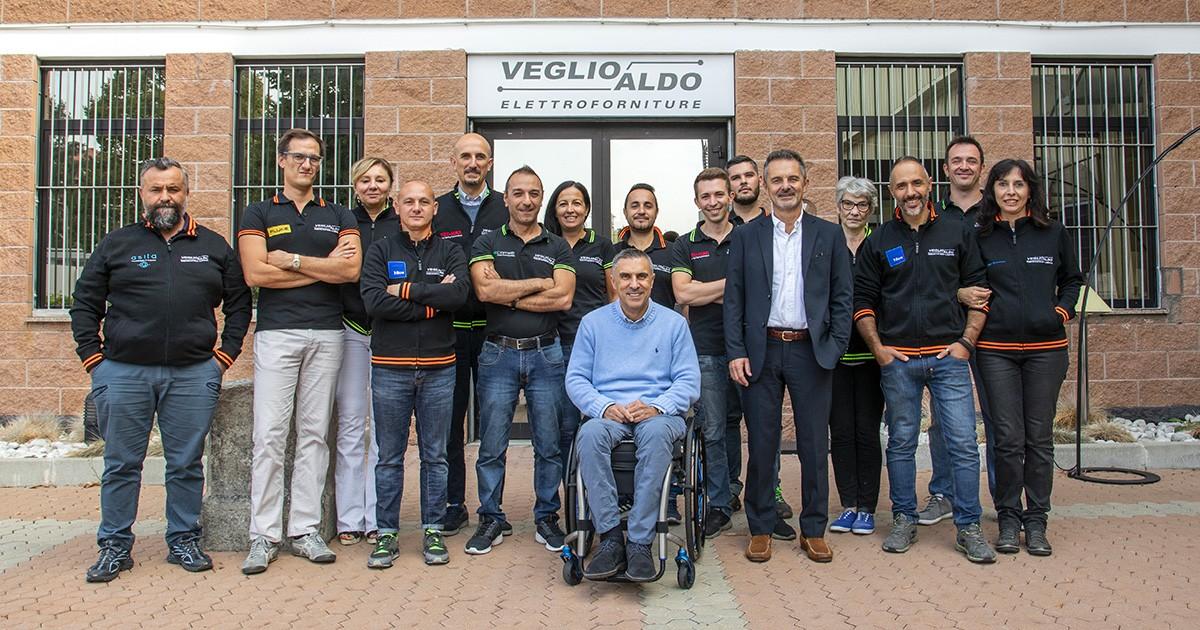 Veglio Aldo srl - Elettroforniture e illuminazione Torino: una squadra di professionisti al servizio del cliente